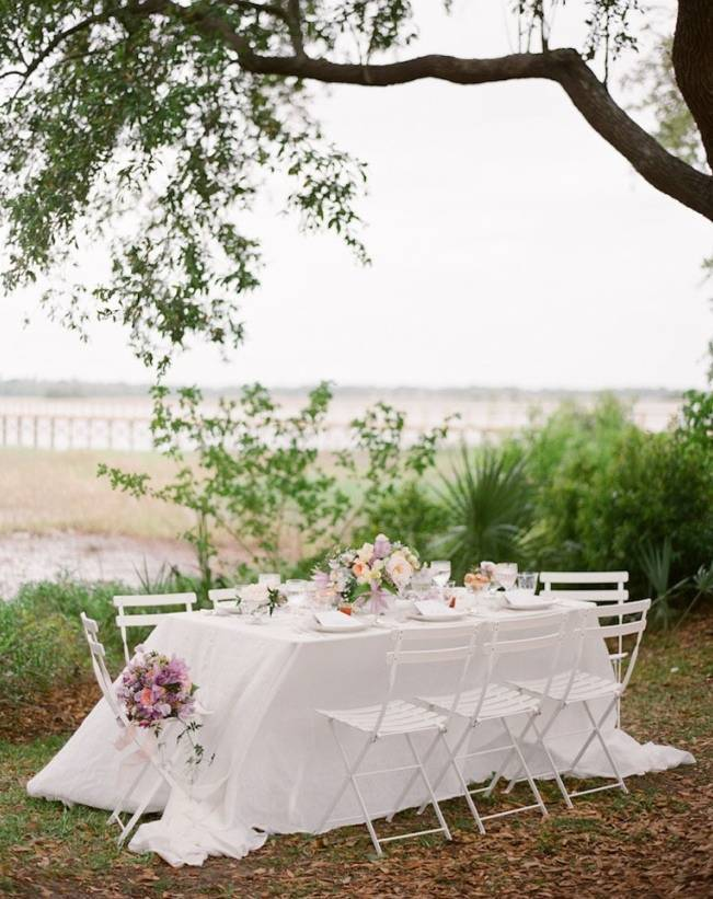 southern wedding reception