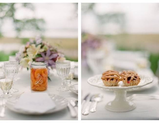 southern wedding style table