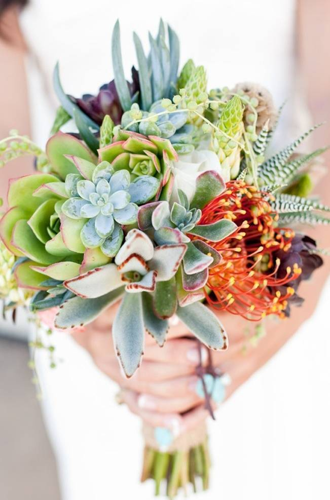 Succulent Plant Wedding Inspiration