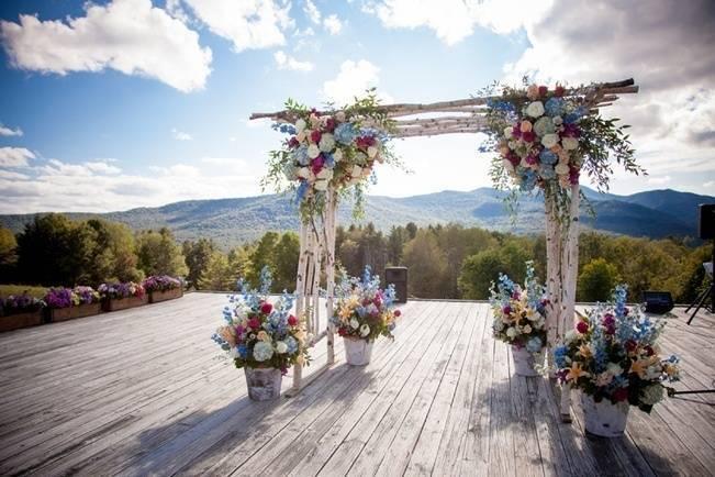 Trapp Family Lodge Wedding {Kathleen Landwerhle Photography}