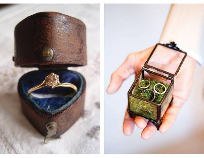 Vintage Engagement Ring Box
