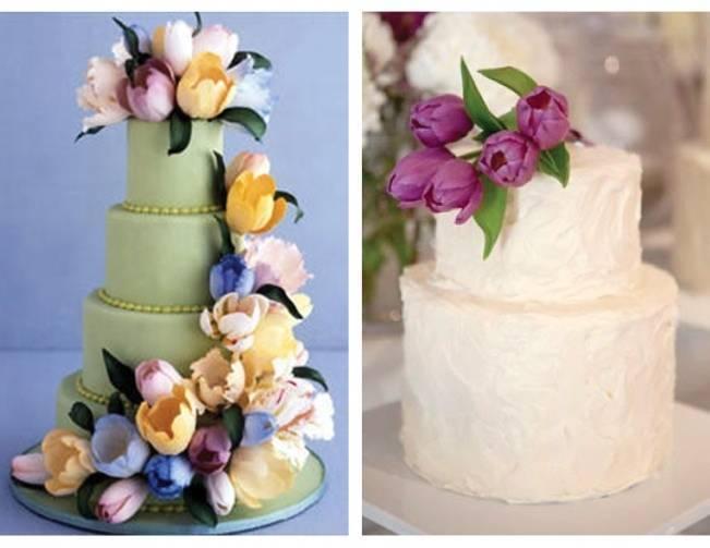 tulip wedding cake - ron ben israel