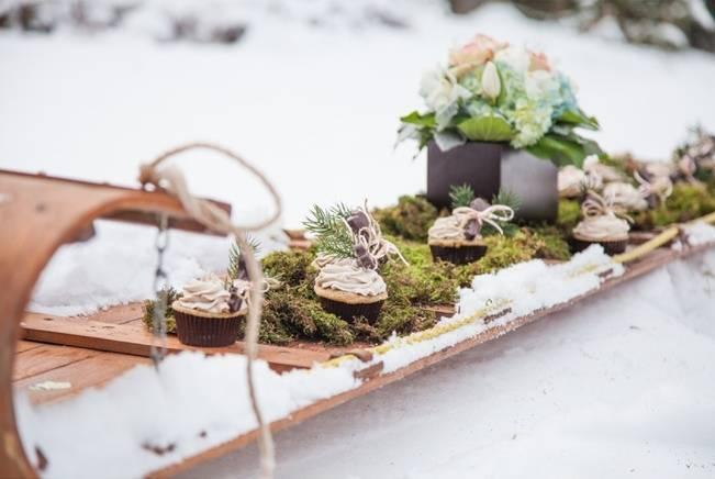 winter wedding editorial