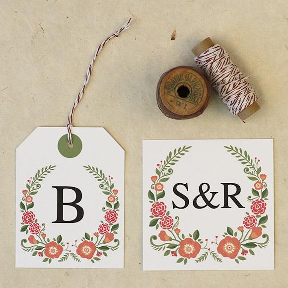 Love vs design free wedding printables