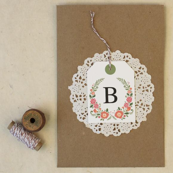 free floral wedding printables