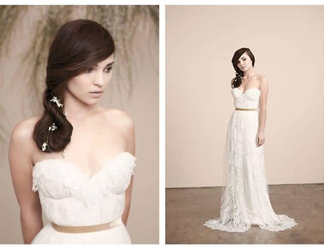 Sarah Seven Romanced gown