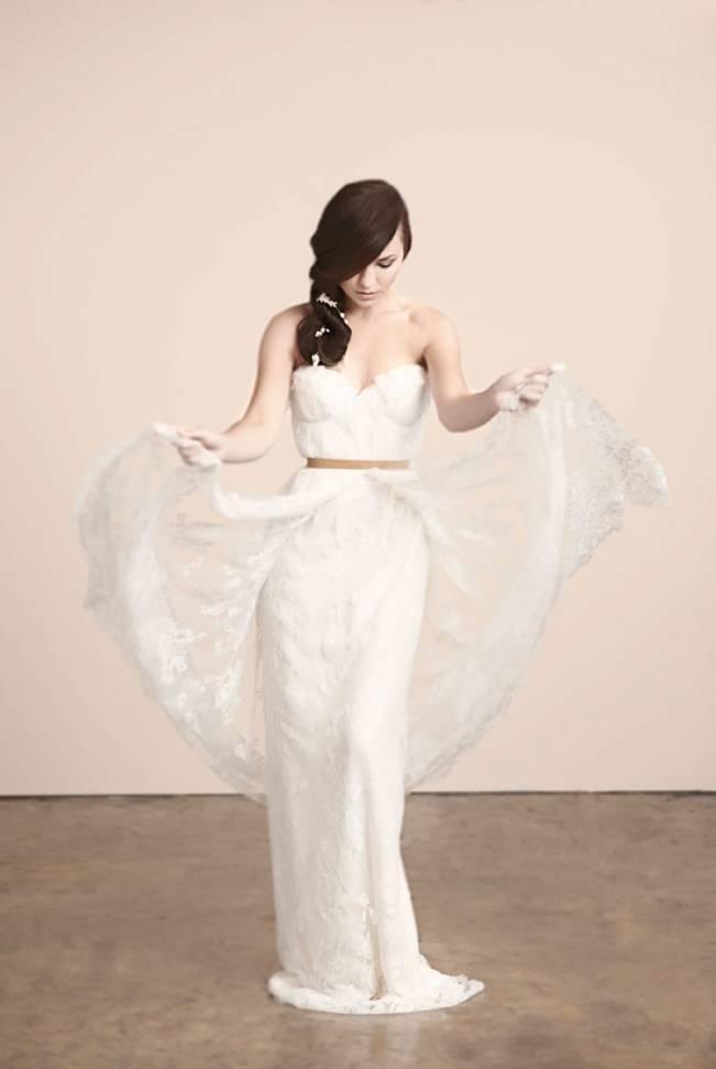Romanced wedding dress by sarah seven