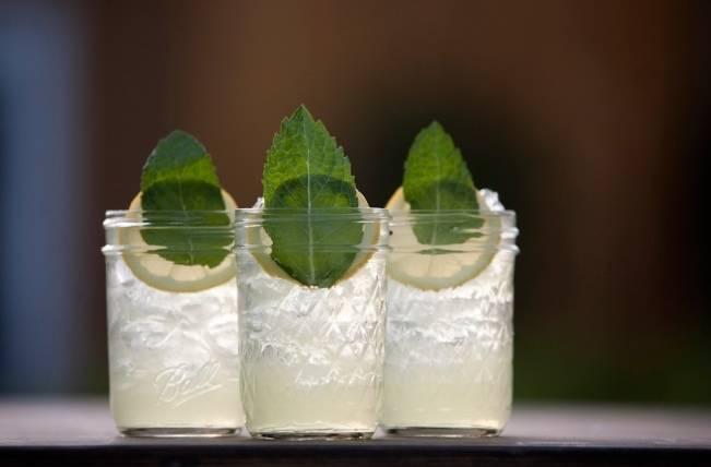 mint julep wedding drinks