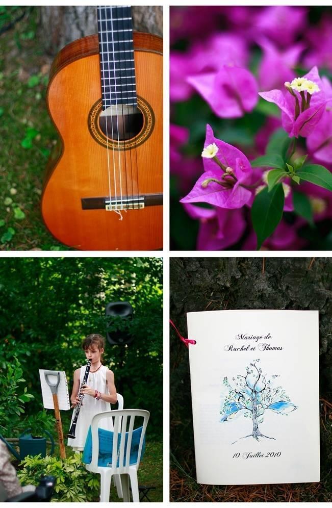 backyard garden wedding