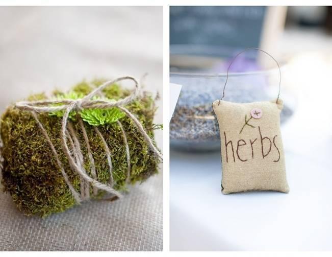 herb garden wedding theme