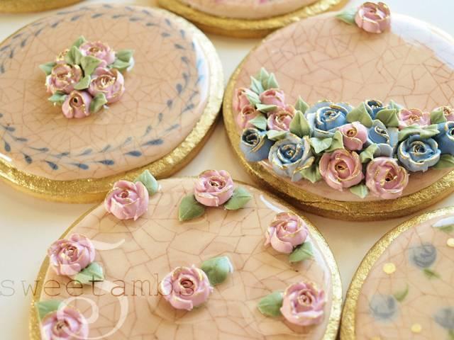 DIY: Cracked Glaze Cookies