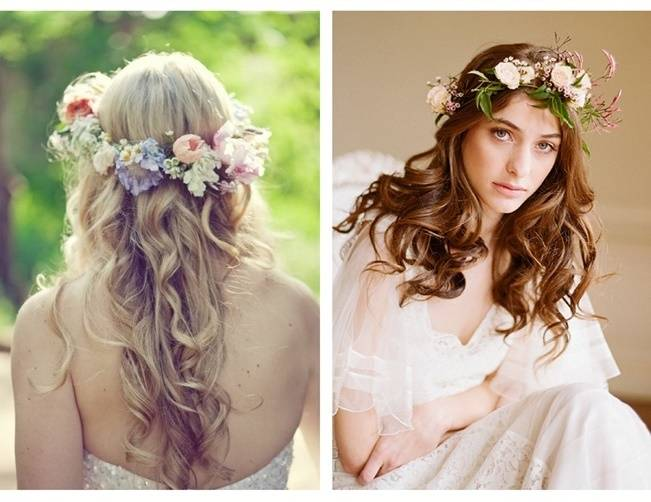 pastel jasmine flower crown