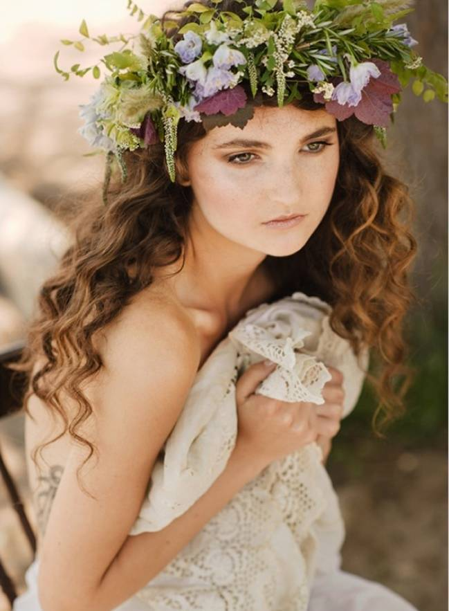 faerie wedding flower crown