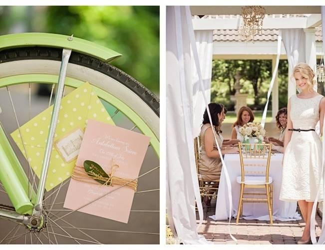 leaf and twine wedding invitations
