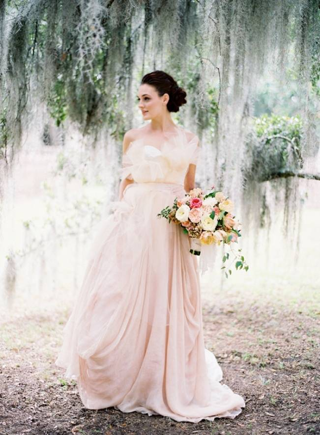 Charleston Faux Wedding at Fenwick Hall {Jose Villa Photography}