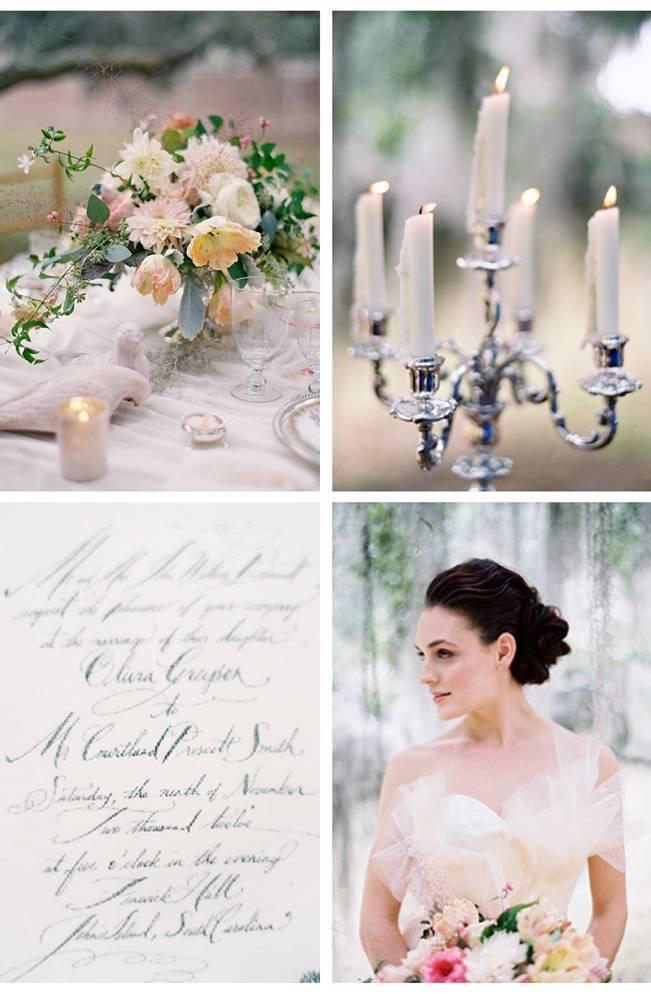 southern romantic wedding