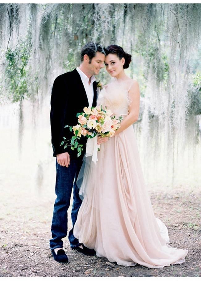 pink blush bride