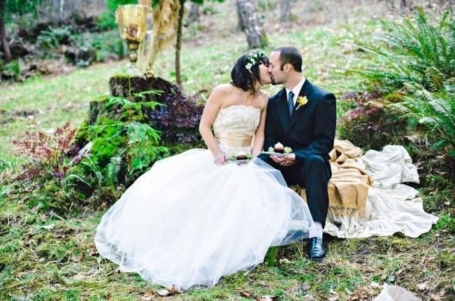 woodland wedding editorial