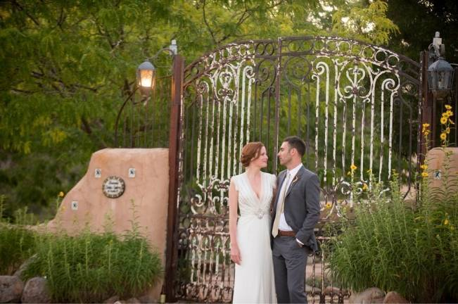 DIY Outdoor Hacienda Wedding {from Ashley Davis Photography}