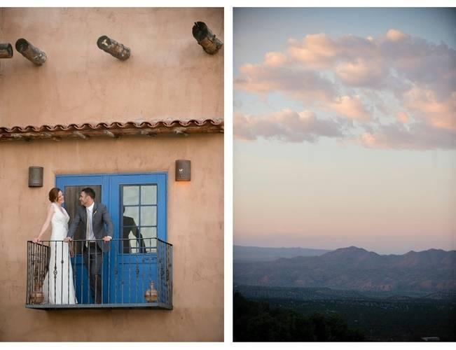 blue door bride and groom