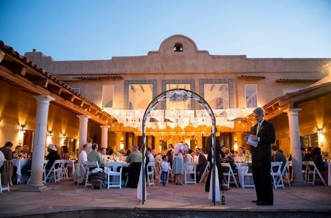 great outdoor wedding lights
