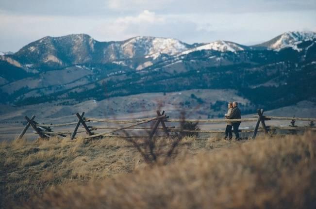rustic mountain engagement northwest