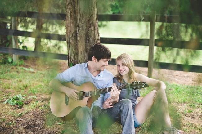country singer engagement