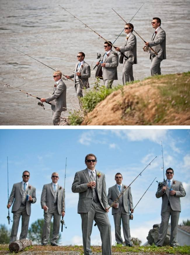 grooms gone fishing