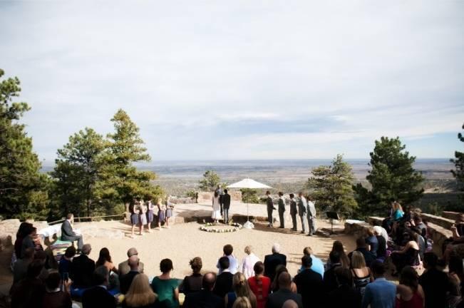 mountain summit wedding