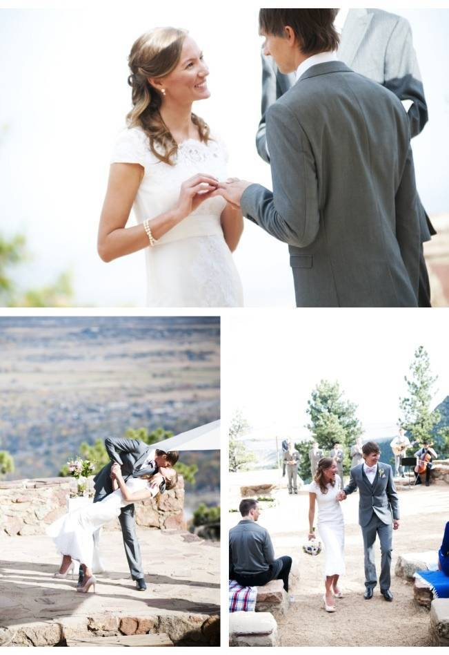 rustic boulder wedding venue