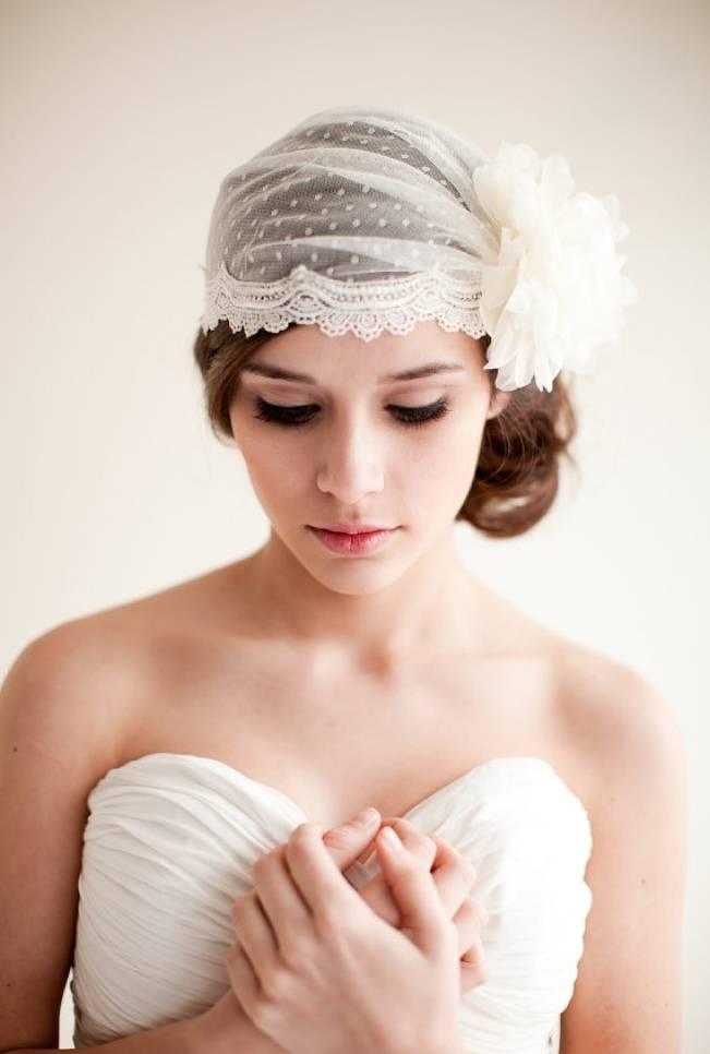 Wedding Day Adornments: Bridal Caps