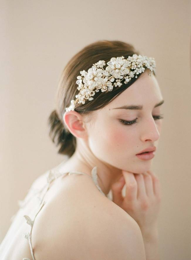 Wedding Day Adornments: Earthy Pearls