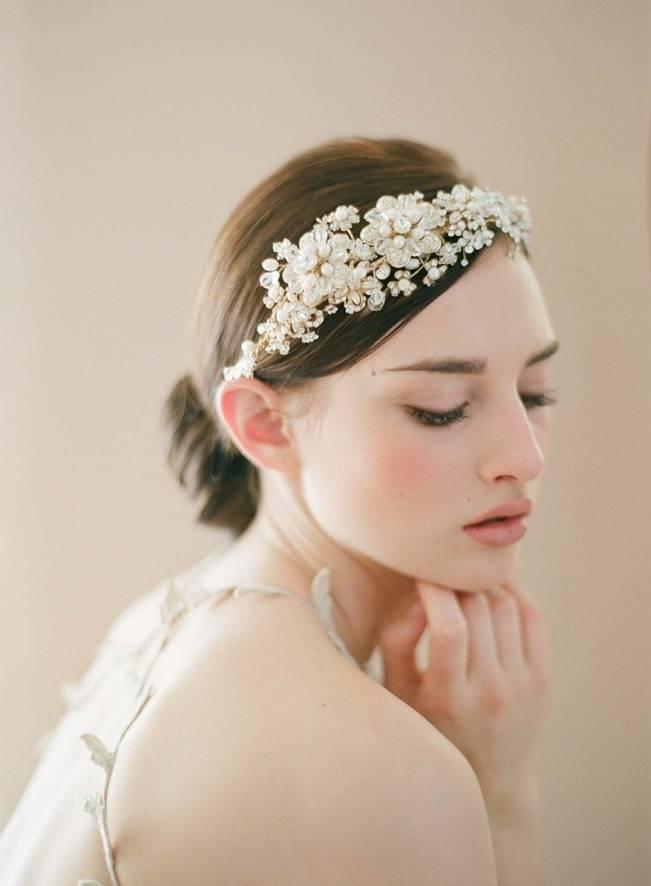 Wedding Day Adornments: Earthy Pearls