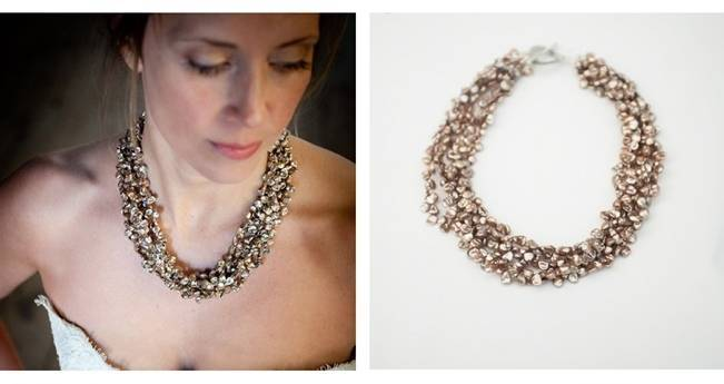 keshi pearl necklace intrikate designs