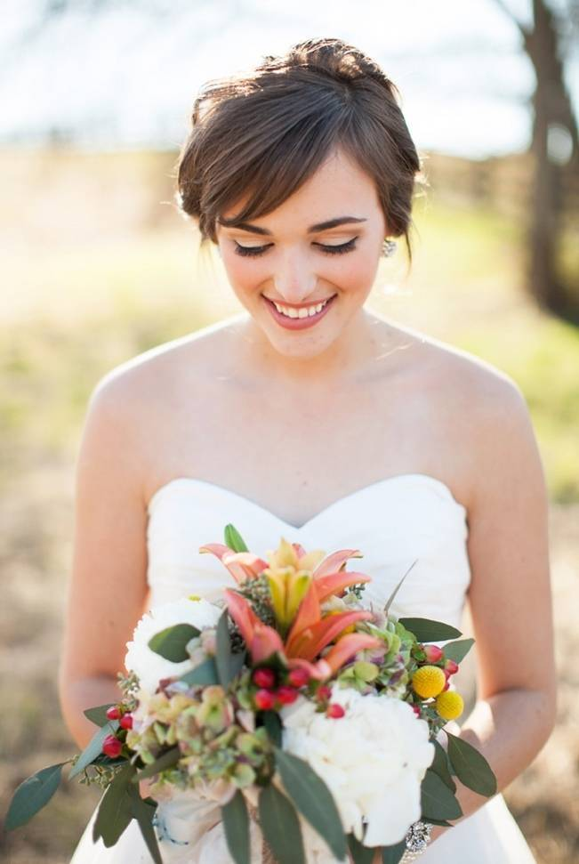 Whimsical Country Chic Wedding {Nancy Ray Photography}