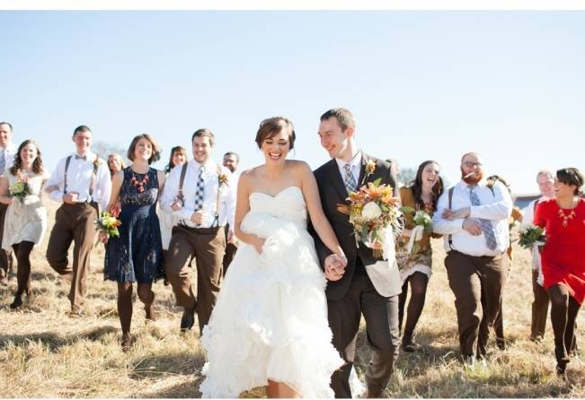 fall country chic tennessee wedding