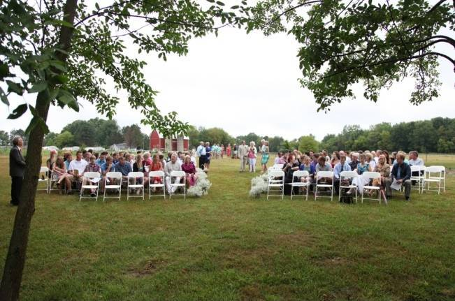 backyard farm wedding michigan