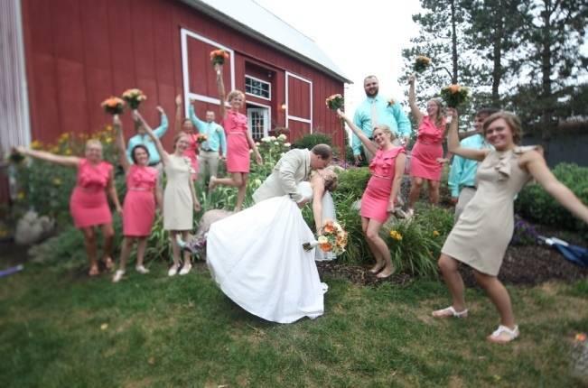 Michigan barn wedding