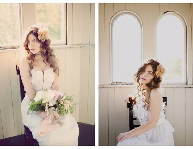 Vintage Painting Inspired Photo Shoot {Shannon Grant Photography}