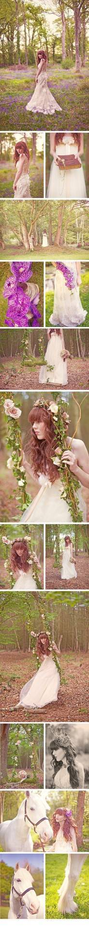 Enchanted Woodland Styled Shoot {Sarah Gawler Photography}