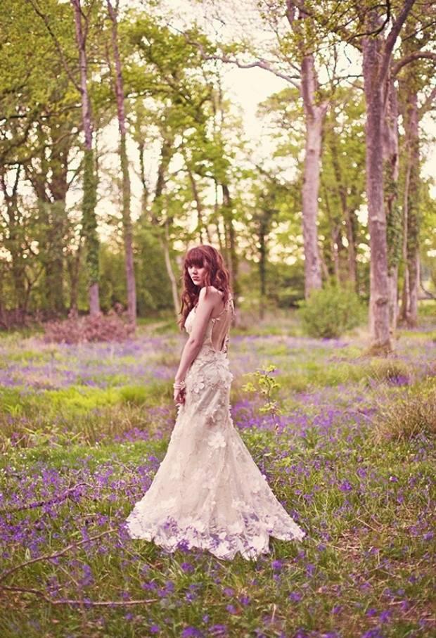 claire pettibone flower gown