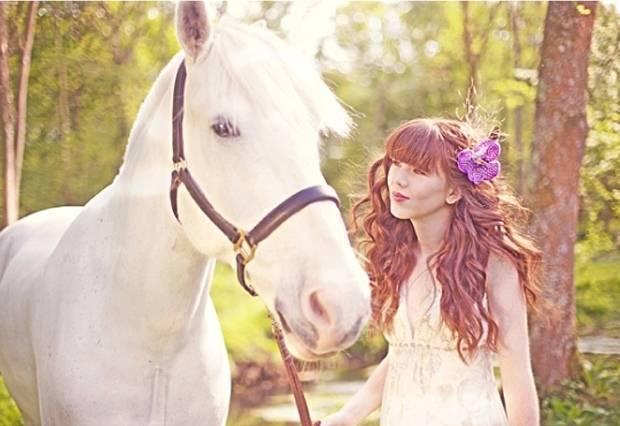 claire pettibone bride with horse