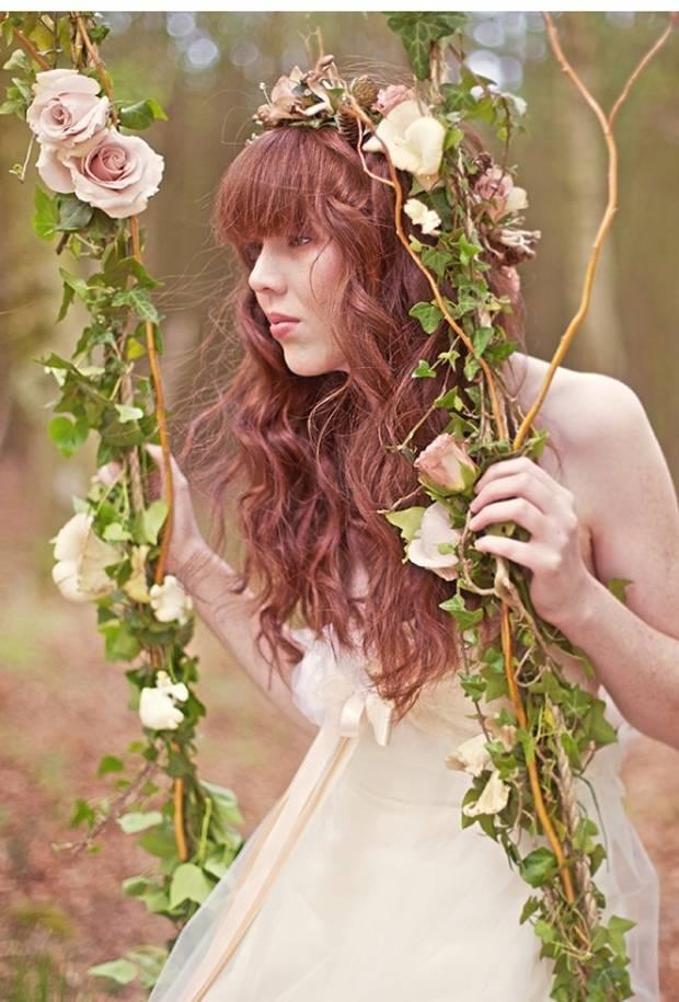 enchanted woodland swing