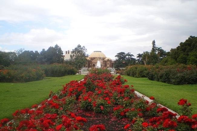 rose garden in los angeles