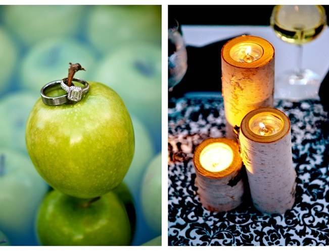 birch candles for weddings