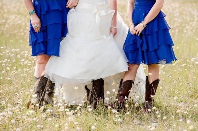 cobalt blue bridesmaid dresses