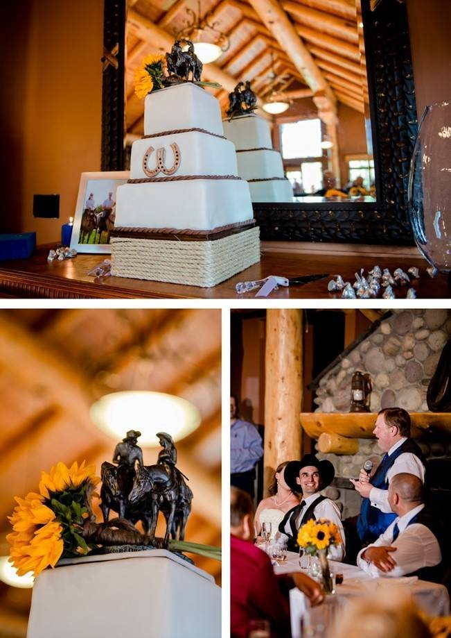 Rustic Mountain Wedding in Banff {from ENV Photography}