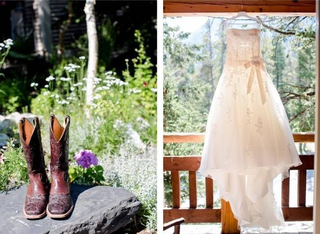 cowgirl boots for brides
