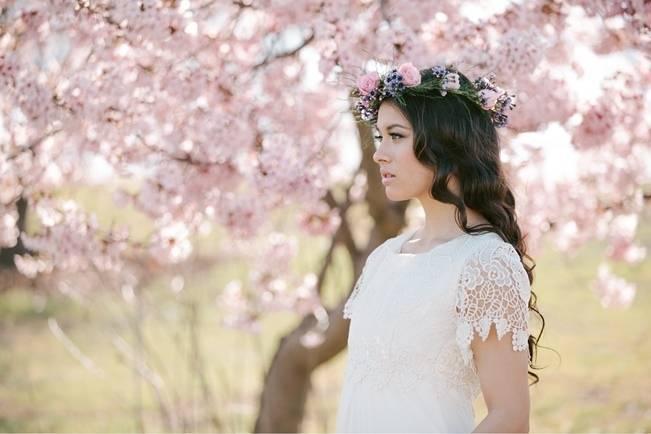 All Abloom: Spring Bridal Shoot {Jennifer Fujikawa Photography}
