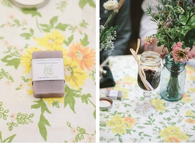 natural soap wedding favors